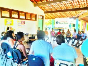 Público comparece e participa da Oficina Cultivando Cidadania