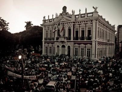 Manifestações da sociedade civil em Ilhéus
