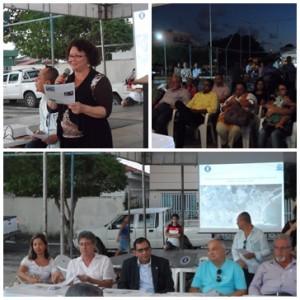 Momentos do lançamento do Projeto Salve a Baía do Pontal