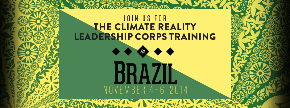 Climate Reality Leadership Corps Training com Al Gore
