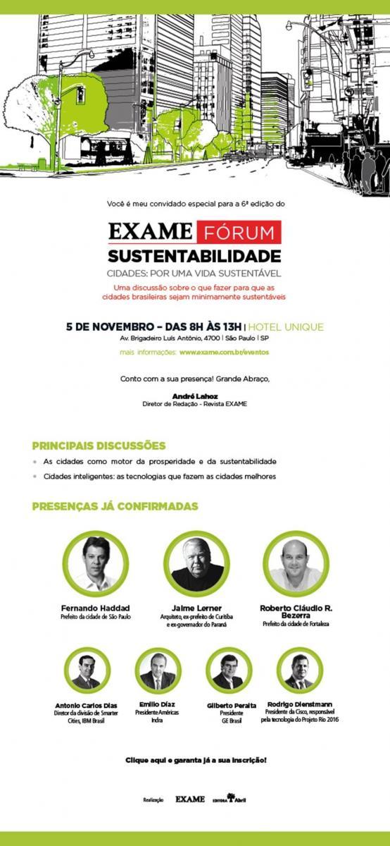 exame forum sustentabilidade programação completa
