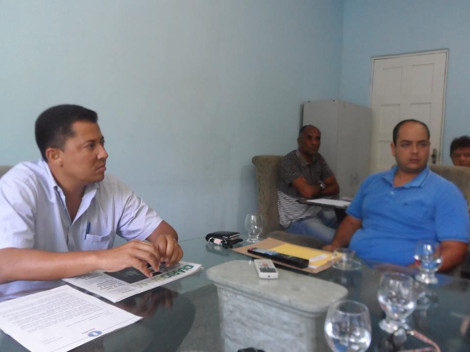 Mesa Diretora da Câmara de Vereadores recebe a sociedade civil organizada