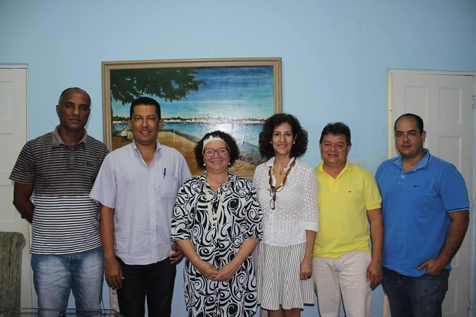 Novo Presidente da Câmara de Vereadores recebe o Instituto Nossa Ilhéus