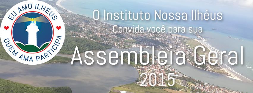 Assembleia Geral Instituto Nossa Ilheus 2015