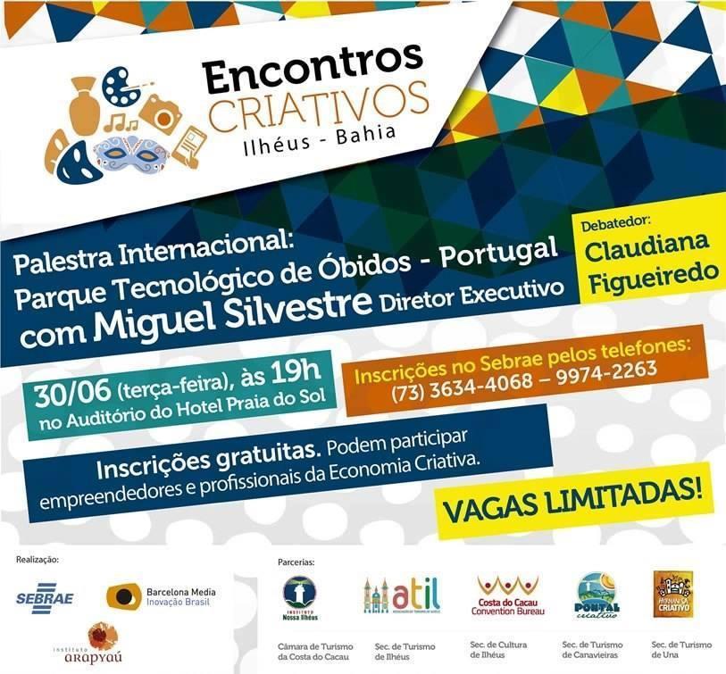 ncontro criativo palestra internacional obidos