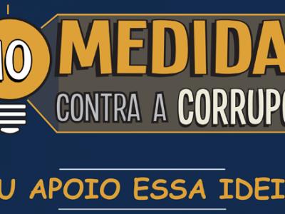 10 medidas contra corrupcao