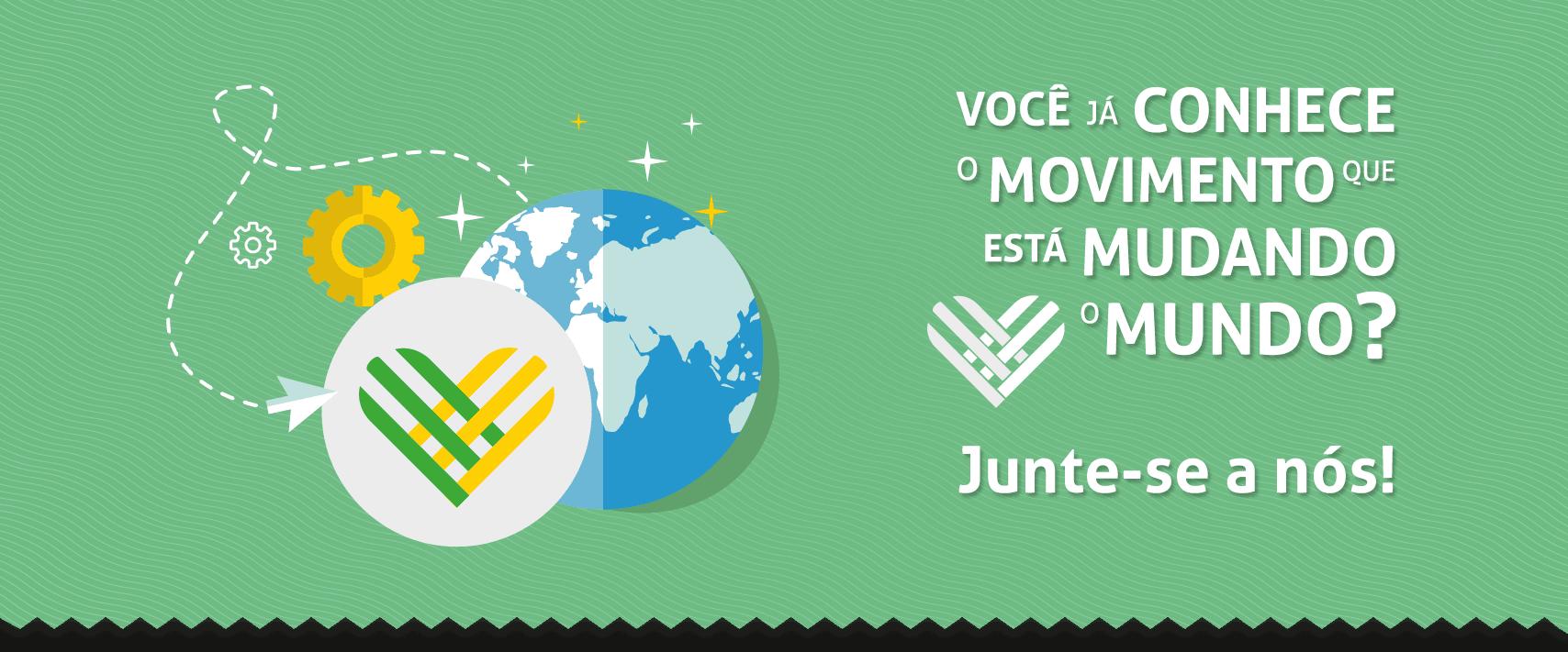 #diadedoar Movimento de Doação no Brasil