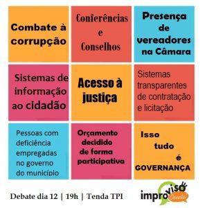 Card Improviso Oxente_Governança